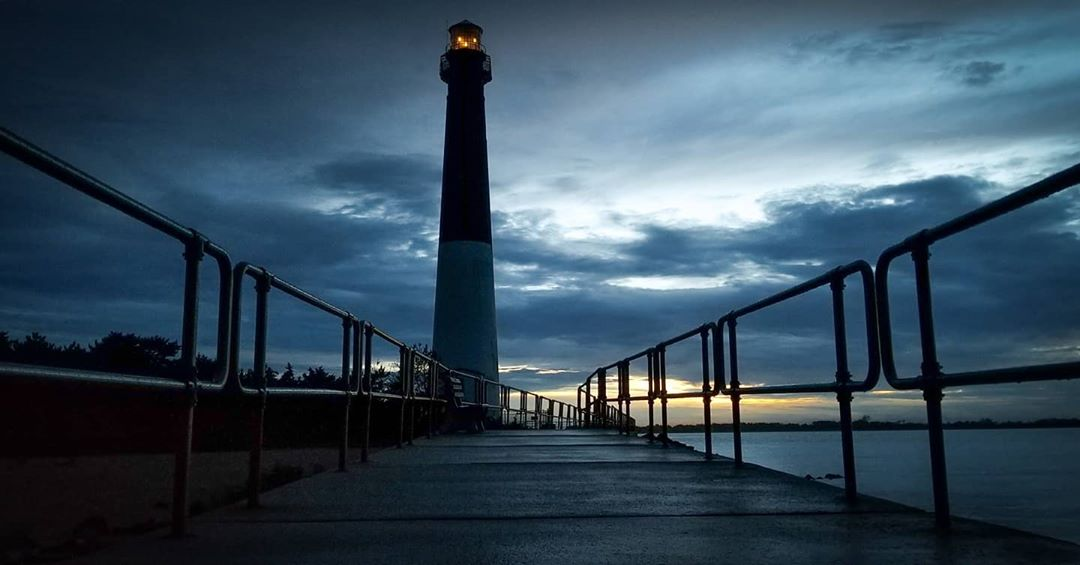LBI Night view!, barnegat light house. Gotta love the night life. Some peace and qui…