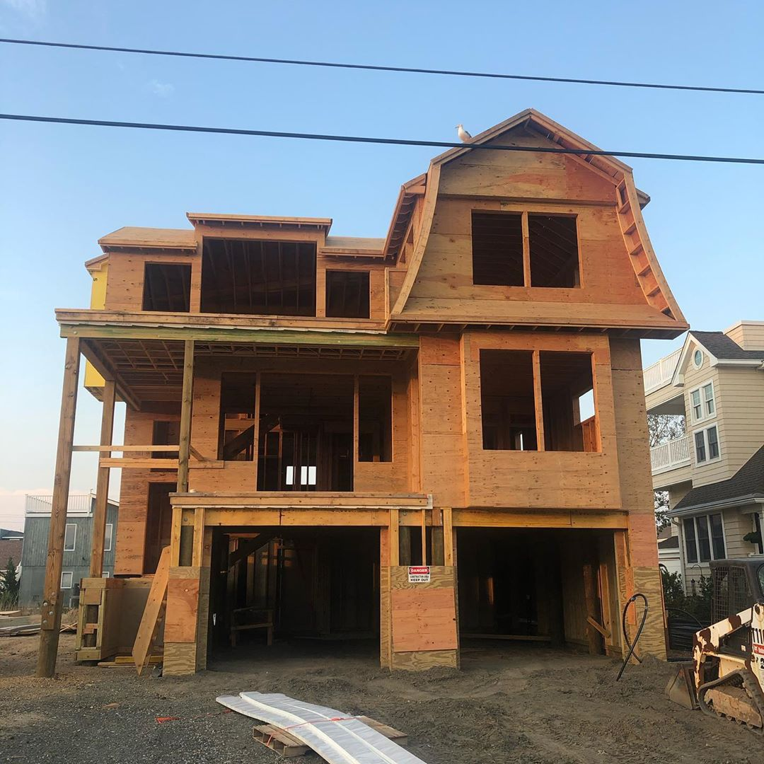 LBI Not bad for three weeks.  Windows are coming soon.  This one is sold but we have…