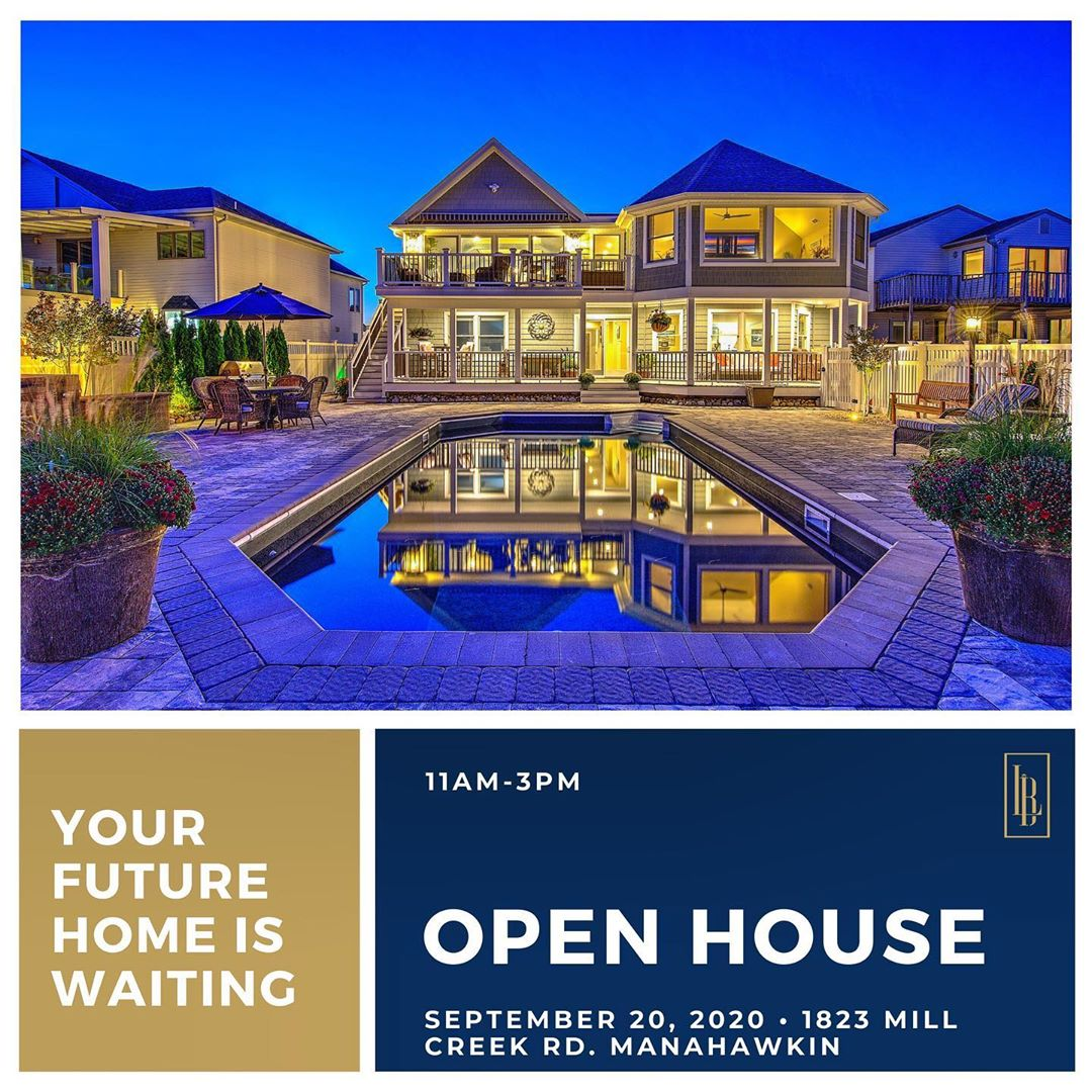LBI OPEN HOUSE  Come see us tomorrow at 1823 Mill Creek Rd  . .                     …