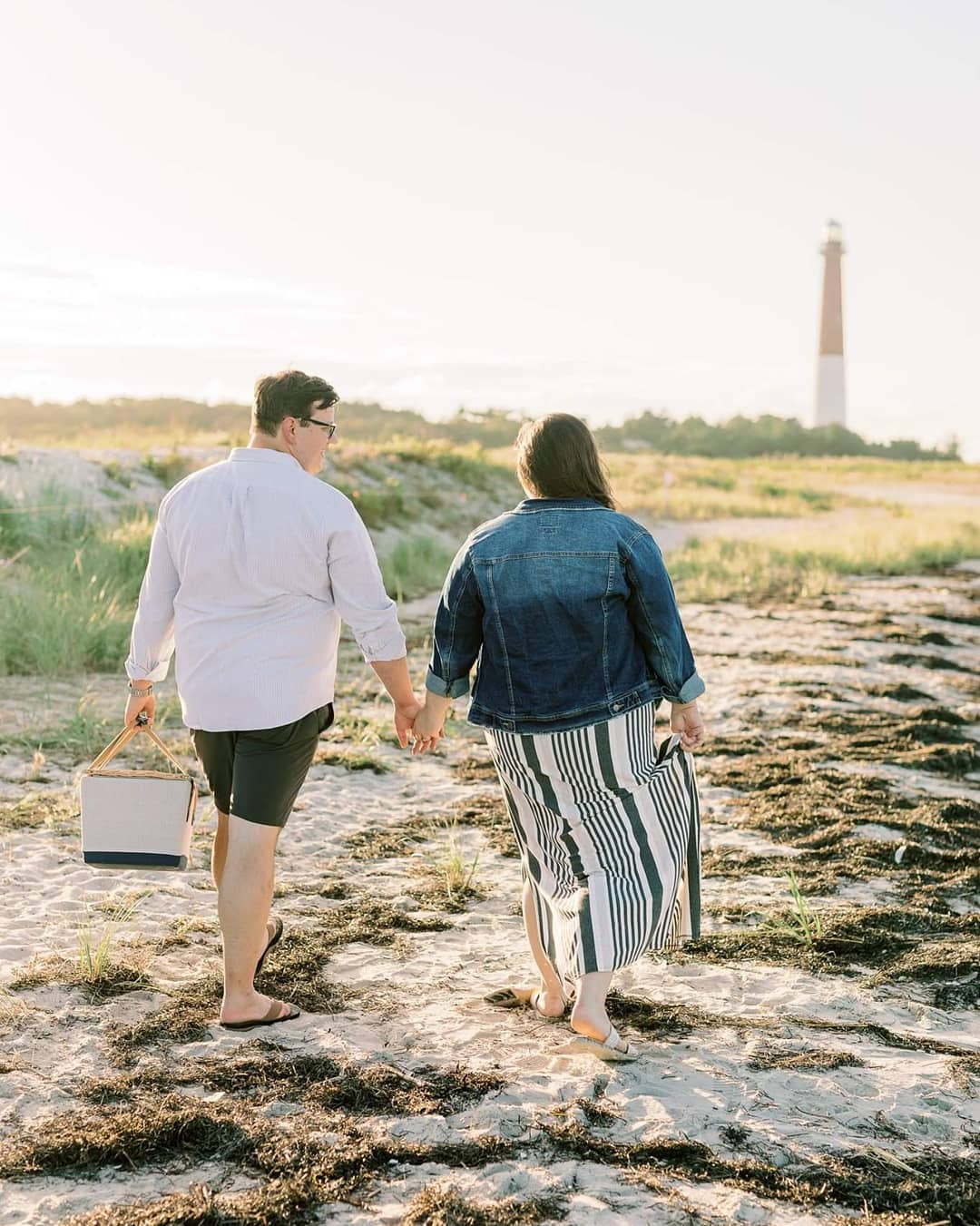 LBI Oh my, oh my. What a wonderful change of pace for Lauren and Tom's engagement se…