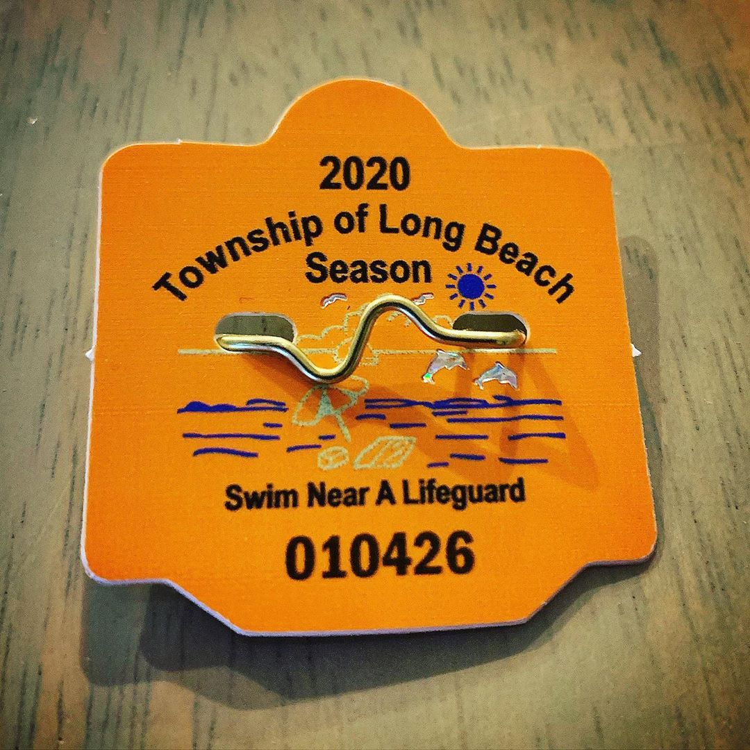 LBI On sale now! Don't forget to purchase your Long Beach Township seasonal beach ba…