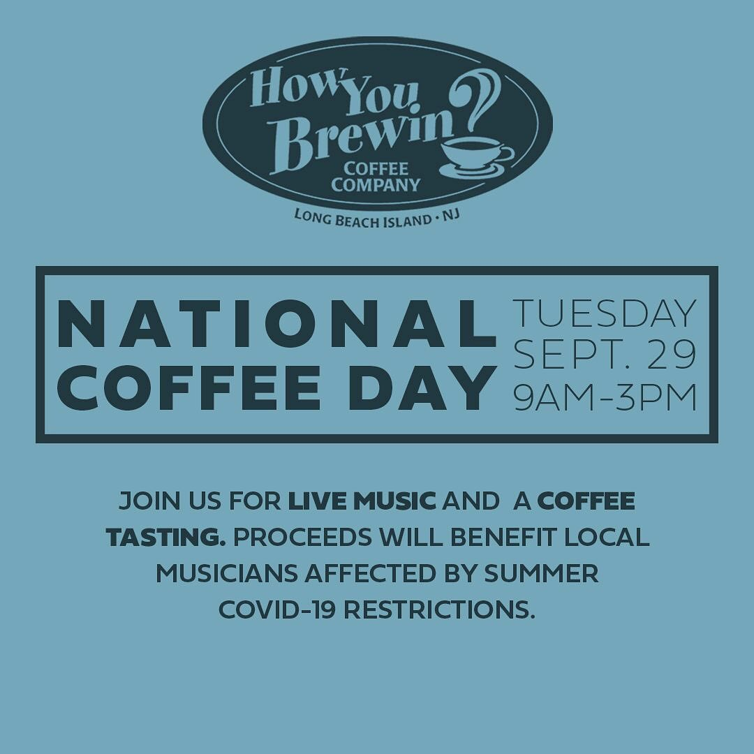 LBI Our favorite day of the year is approaching: National Coffee Day! Join us Tuesda…