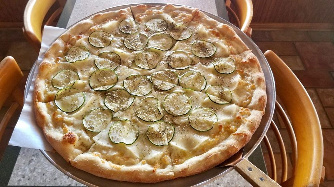 LBI Potato and zucchini pizza? Yes please! This delicious special is not always avai…
