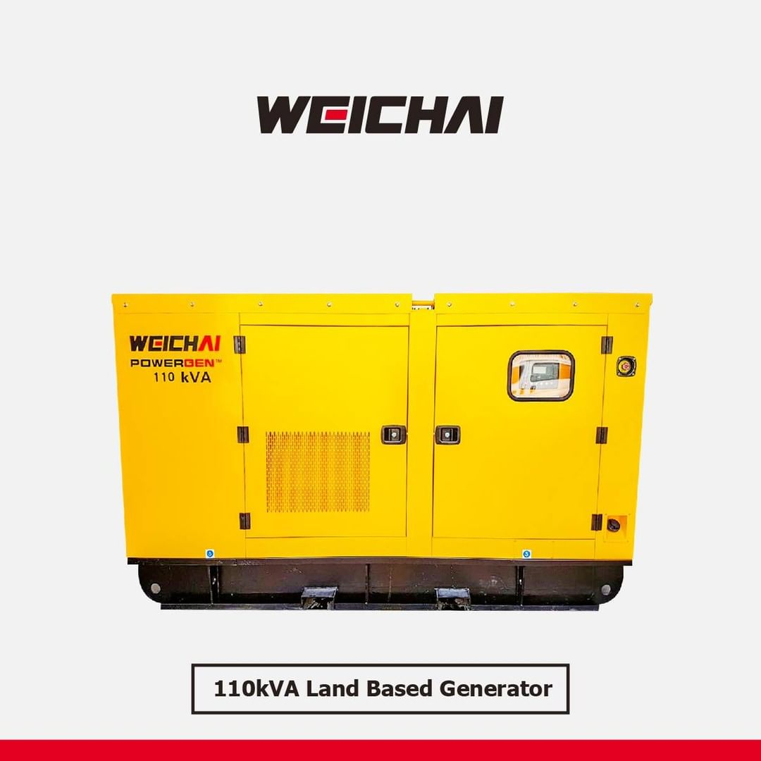 LBI Product: 110KVA land based generator                               …