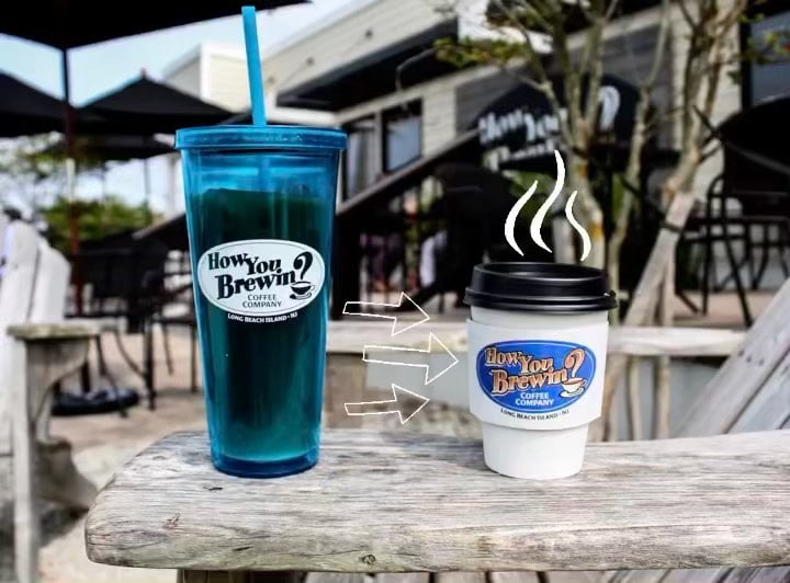 LBI Raise your hand if you've switched from iced to hot coffee already!   . . . …