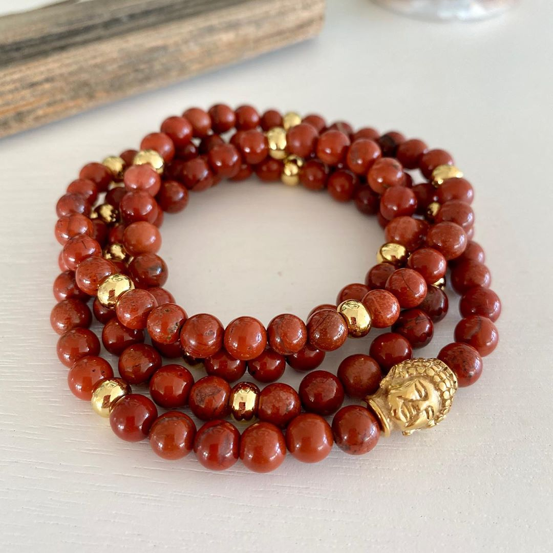 LBI Red Jasper is gently stimulating and also an extremely protective stone. It can …