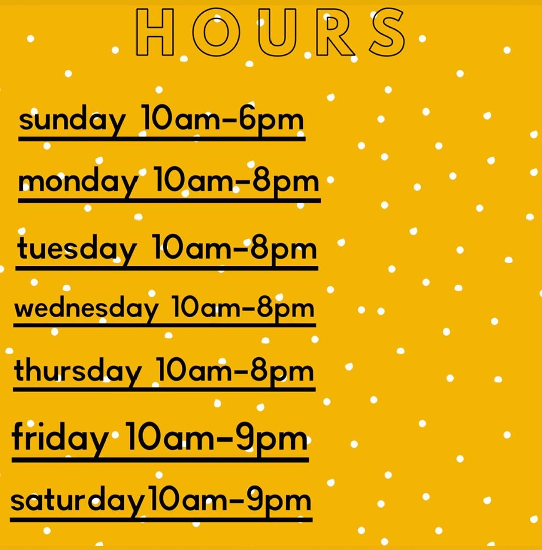 LBI Reminder of our hours as we finish the weekend • Stay safe! • Remember to wear p…