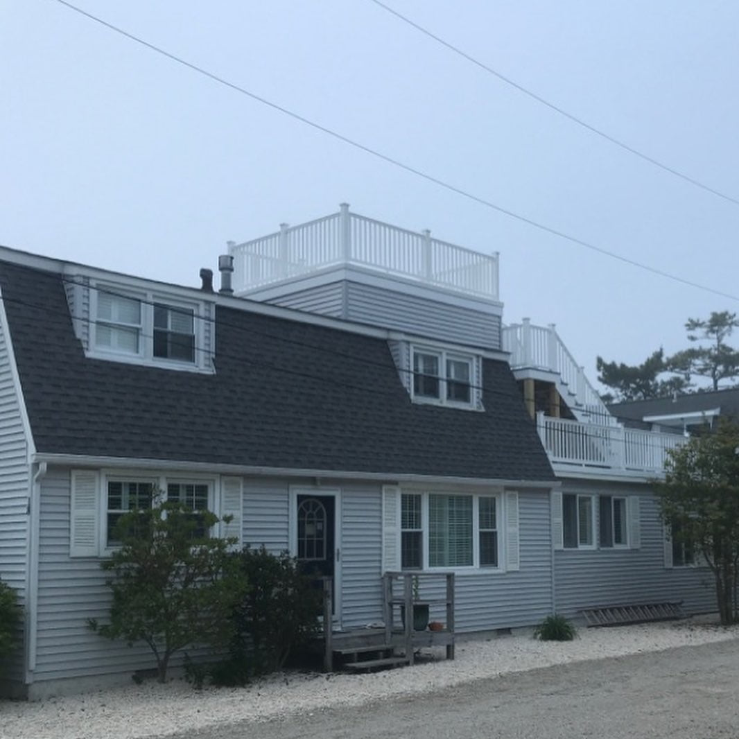 LBI Roof top decks are pretty popular recently. Here's one we recently finished in B…