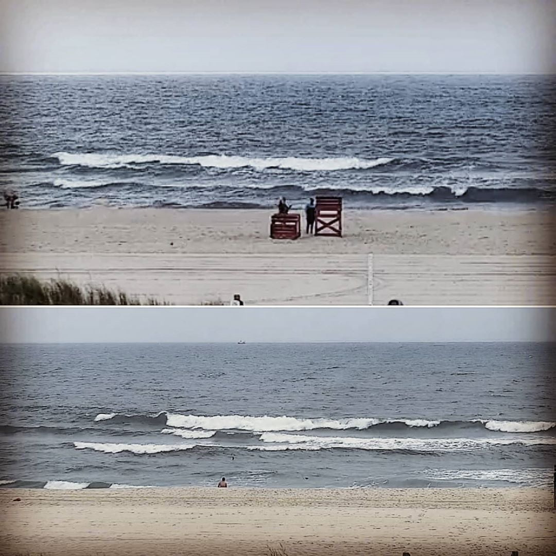 LBI SURF/BEACH REPORT  76° cloudy sw wind Ocean temp 74°-76° The surf is small this …
