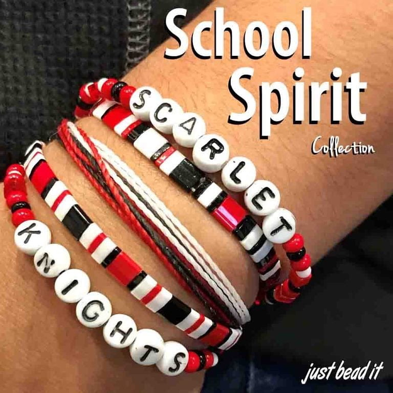Read more about the article LBI School Spirit Collection.  All types of bracelets to show your support.  Mix and…