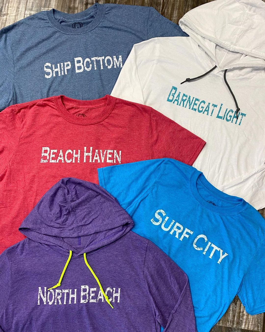 LBI Shop town T's in-store and online ! We're open Friday & Saturday 10-6, Sunday 10…
