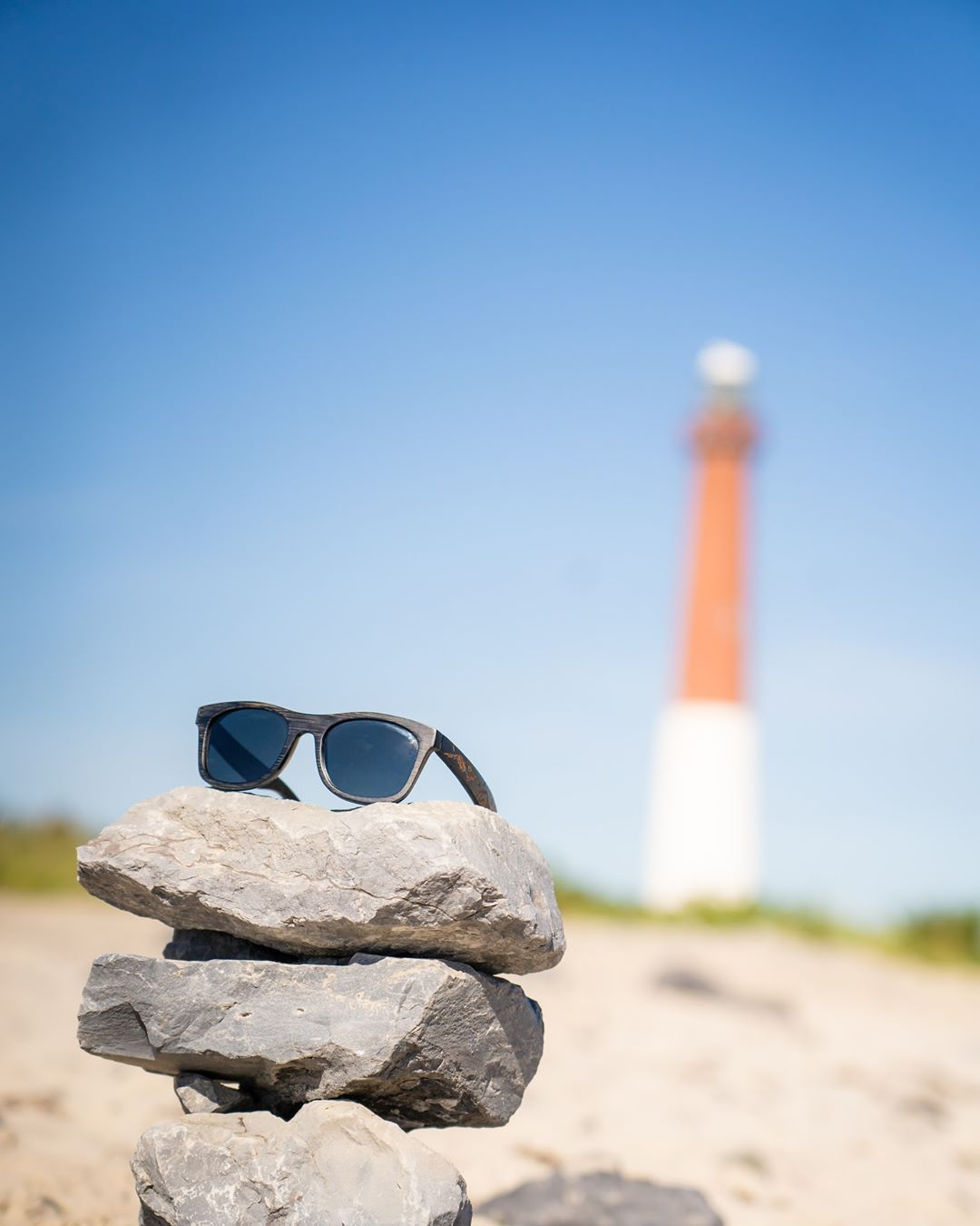 LBI So convenient those rocks were there, made for a good photo …