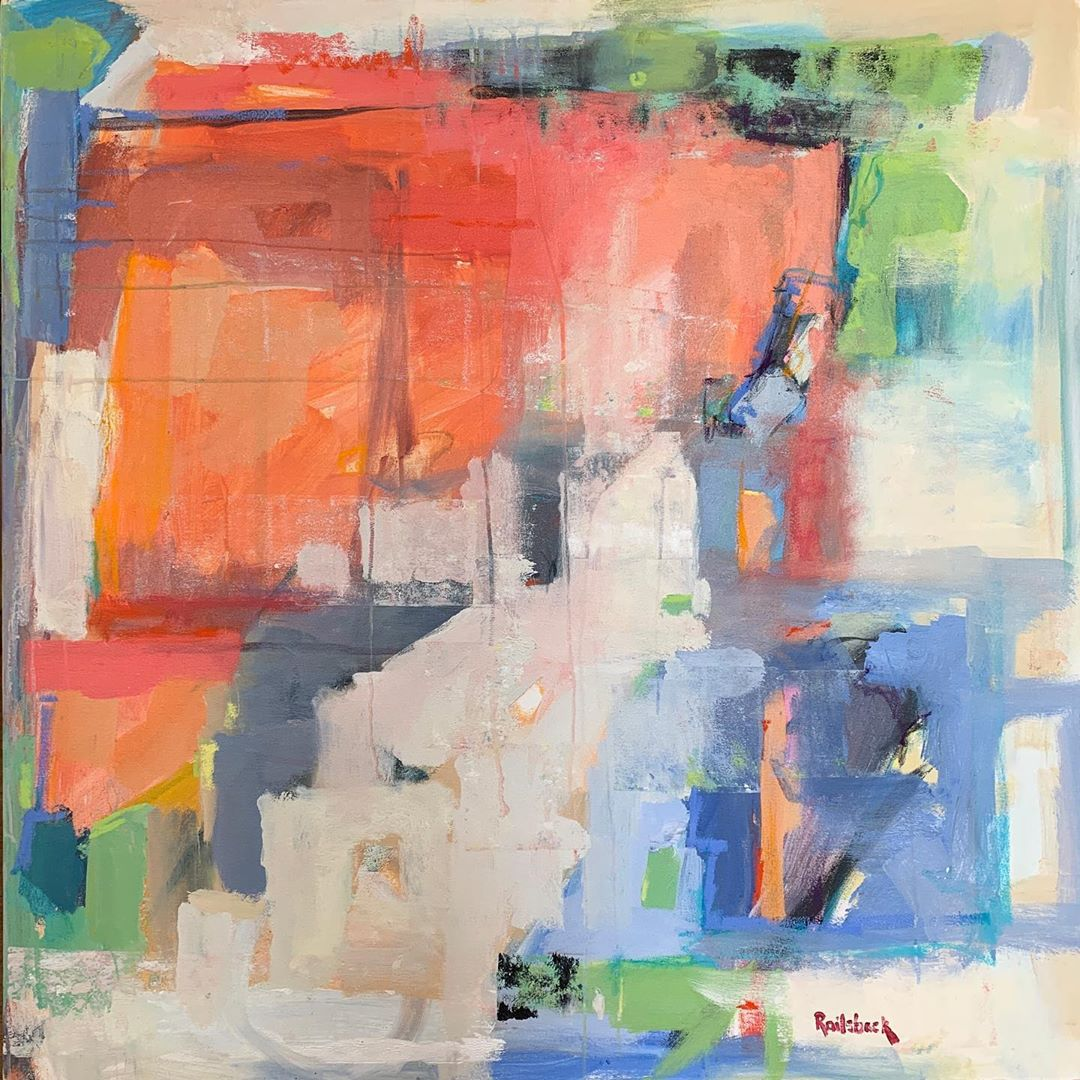 LBI Soothing abstracts and a bold & luminous still life from Page Railsback are now …