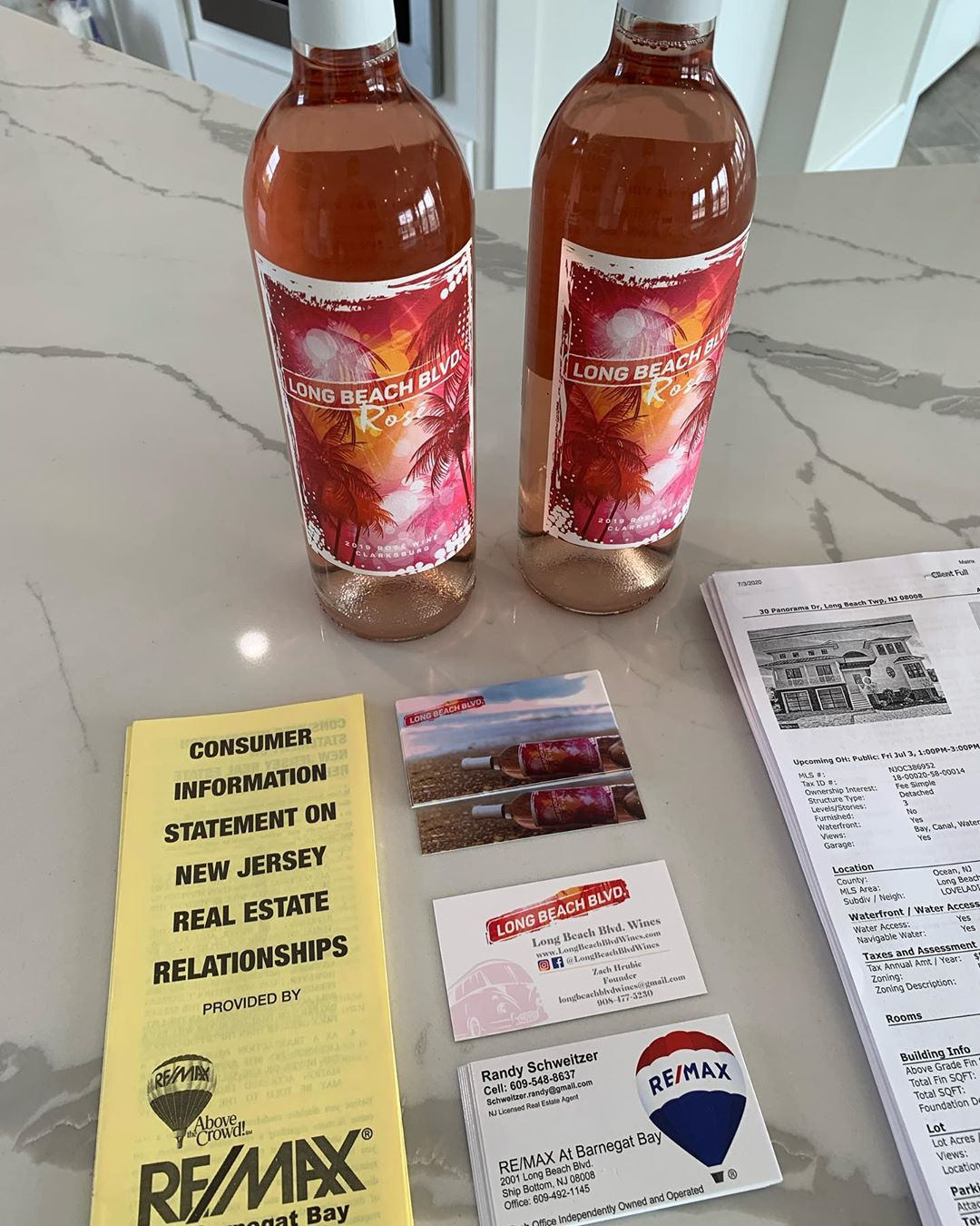 LBI Stop by my open house I'm Giving away a FREE bottle of Long Beach Blvd Wines – R…