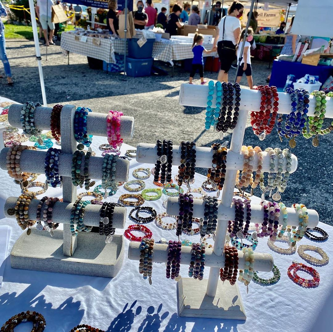 LBI Stop by our booth  today 9:00-12:00.  We have lots of beautiful handmade on LBI …