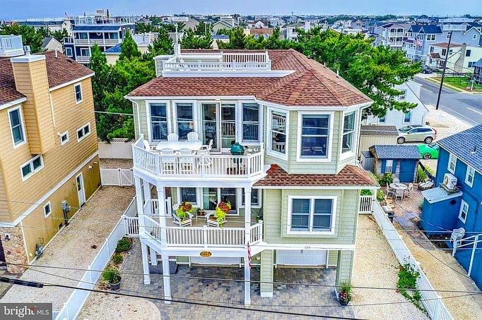 LBI Style, design and location . Gorgeous 4BR/4BA in Long Beach township  . Custom b…