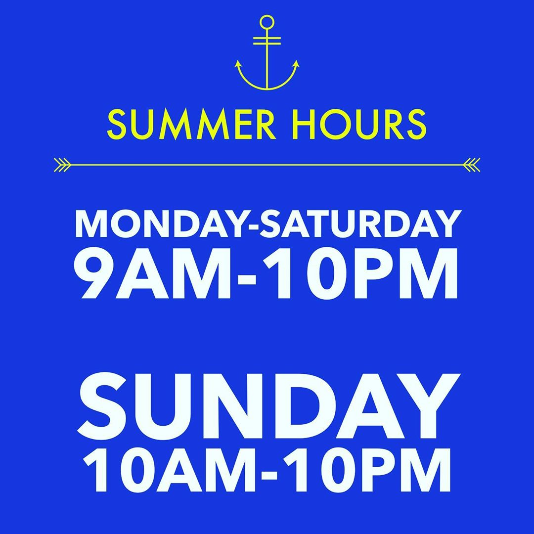 LBI Summer Hours are officially here!  As we come upon a BEAUTIFUL holiday weekend, …