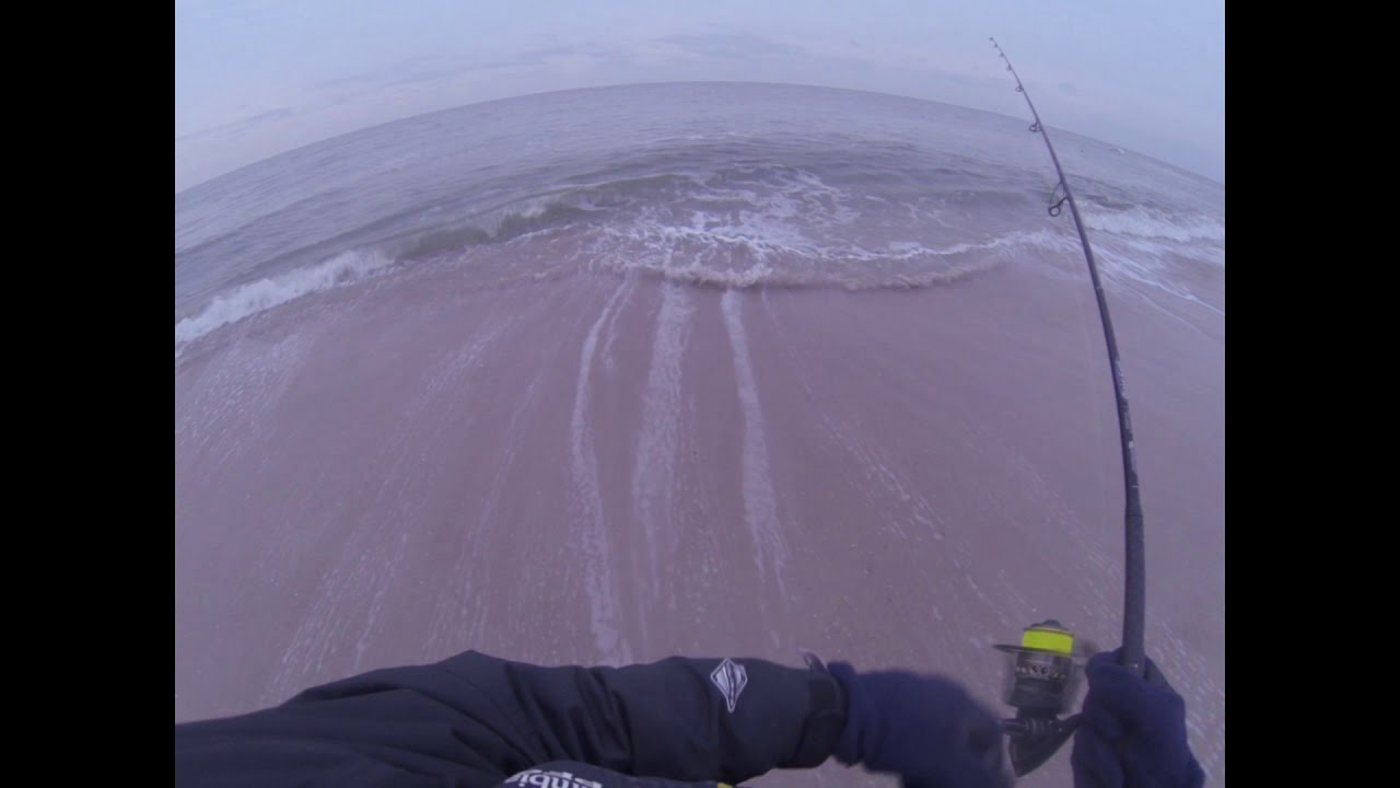 LBI Surf Fishing 12-9-18 #LBI