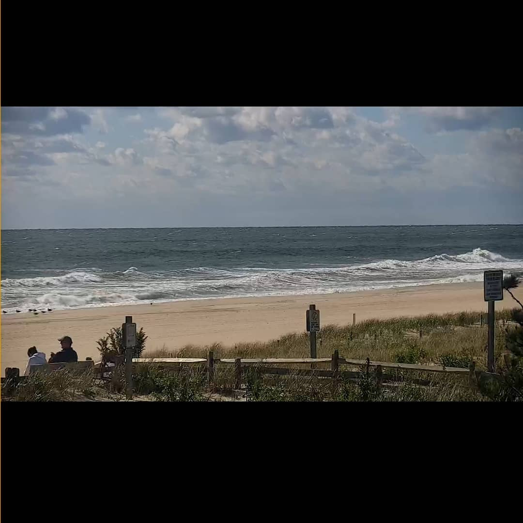 LBI Surf REPORT  Building long period SE swell and ENE windswell mix is in the water…