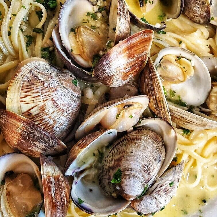 LBI The Power is Back & We'll be Cookin Sautéed Clams over Linguini All Night!   . ….