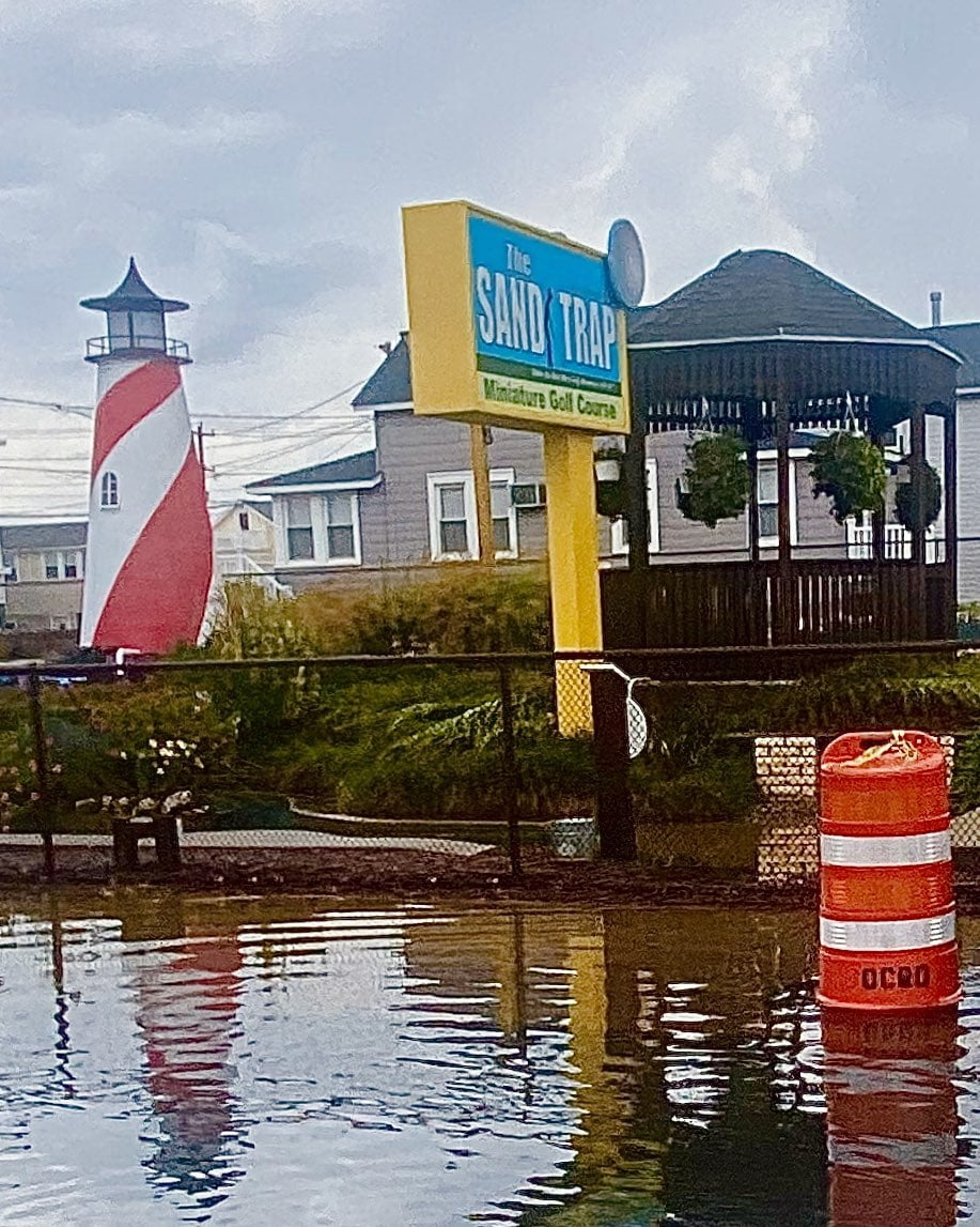 LBI The Sand Trap… sometimes waterfront mini golf on LBI!                     …