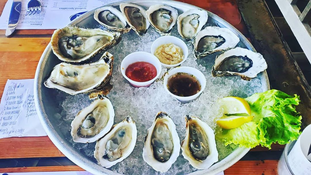LBI The World Is Your Oyster… Let's eat     And the local oyster faves are: Mullic…