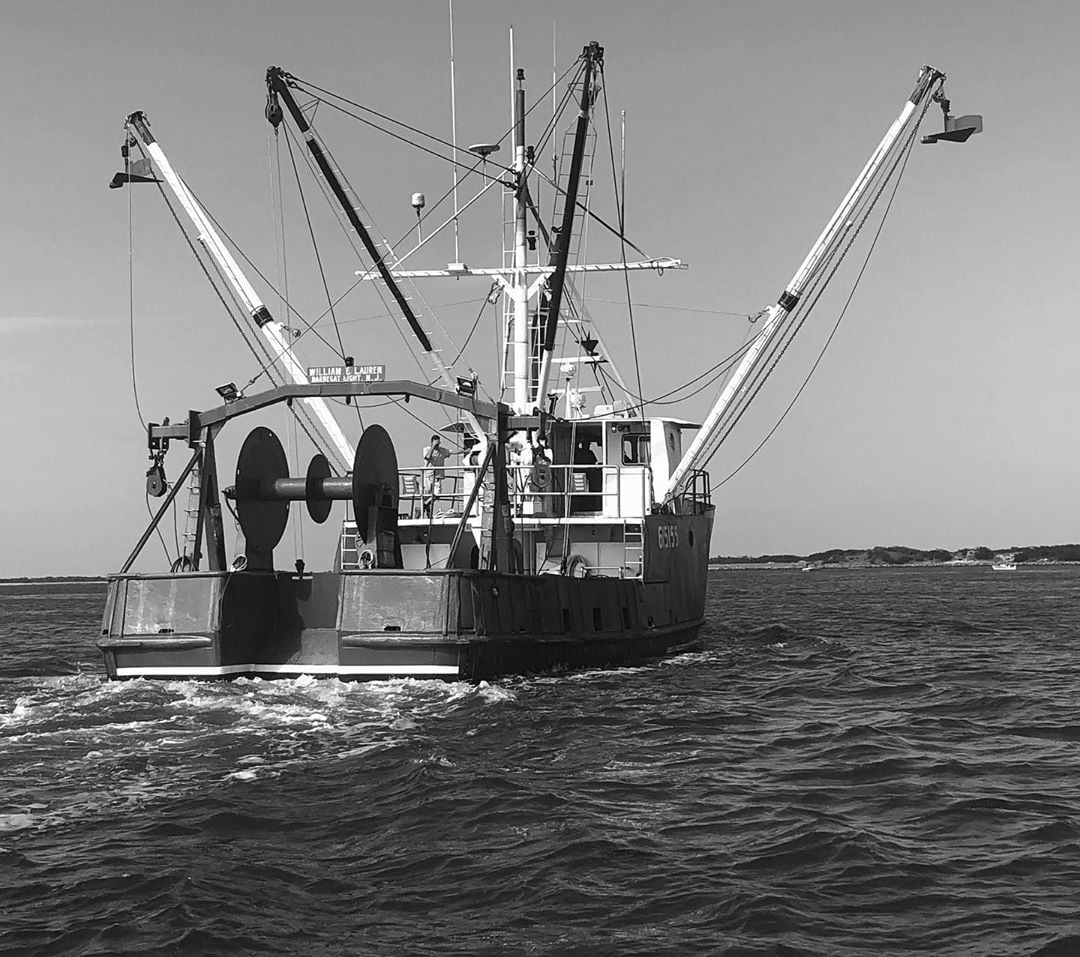 LBI The commercial fisherman heading out to sea.  .                …