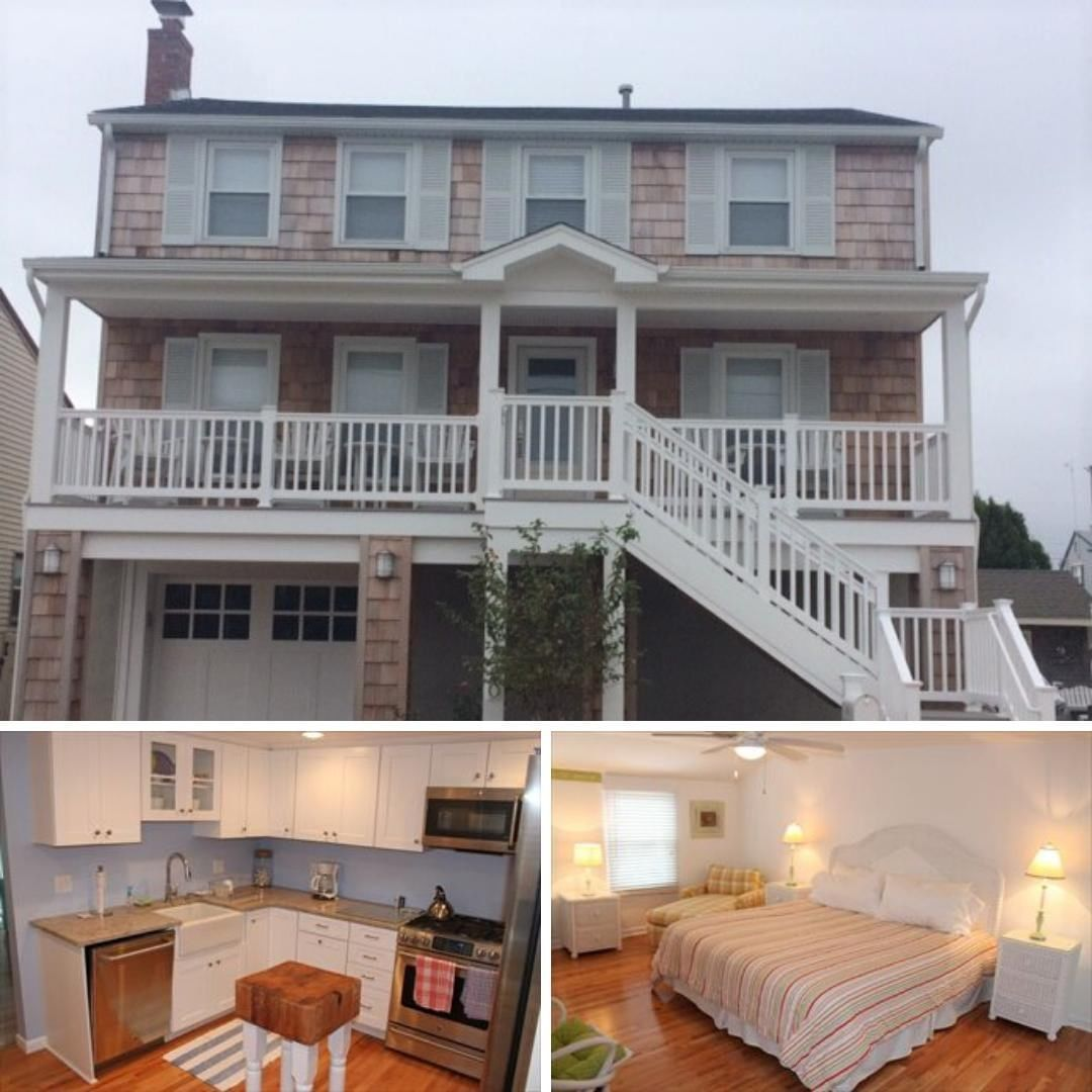 LBI This Beach Haven vacation rental is located on the bay side of Long Beach Island…
