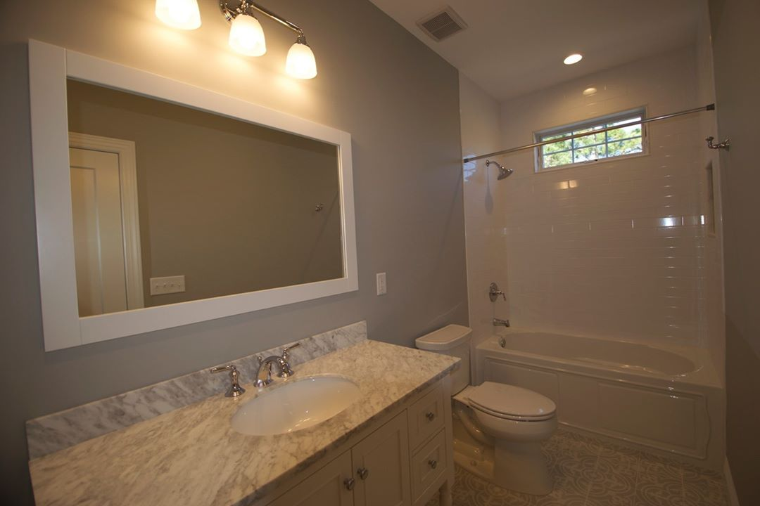 LBI This beautiful hall bath is from a recently completed home in  We love the clean…