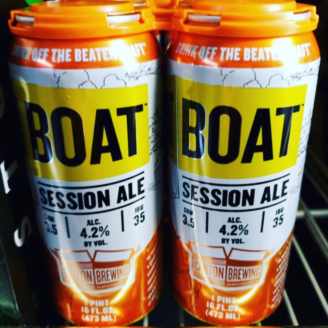 "LBI This beer ""BOAT"" screams Day Drinking! An IPA with just enough flavor to be able…"