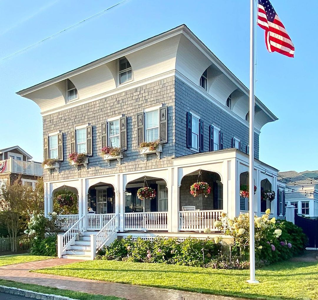 LBI This spectacular Italianate sparkles of Old World charm .  Tax record year built…