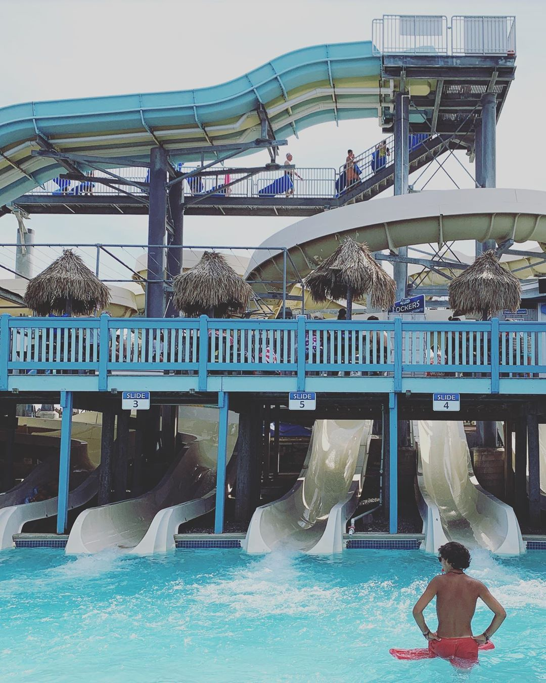 LBI Thundering Surf Waterpark Beach Haven Long Beach Island August 2020             …