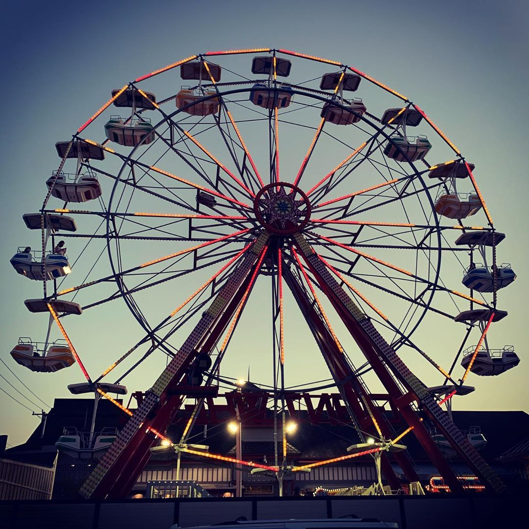 LBI Treat life like a Ferris wheel ride. You must get over the fear so you can enjoy…