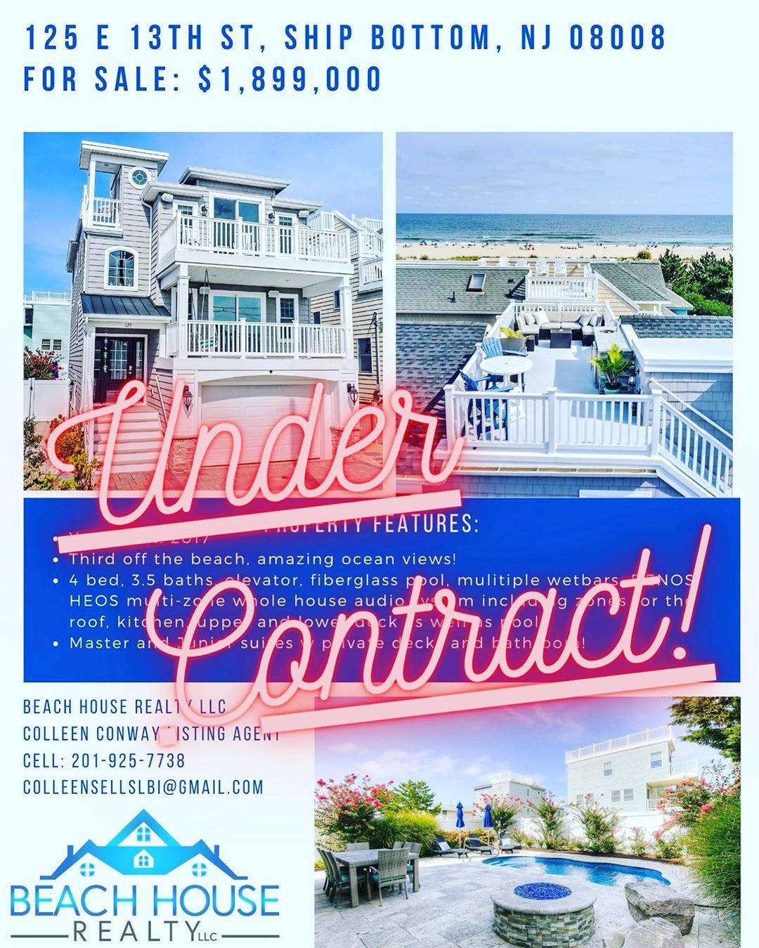 LBI Under contract in 7 days on the LBI market. If you are thinking of selling on LB…