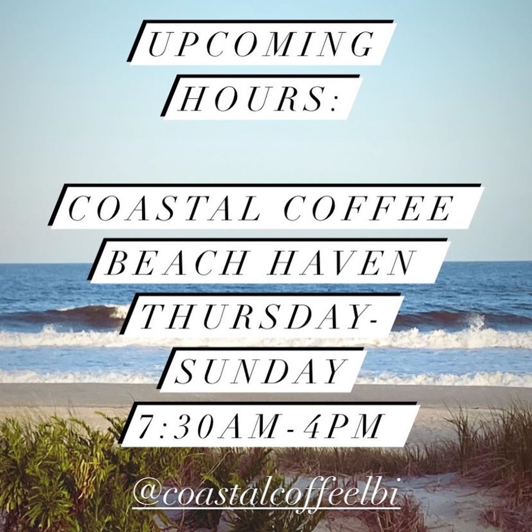 LBI Upcoming Café Hours this week.   Hope to see you at either location soon.      …