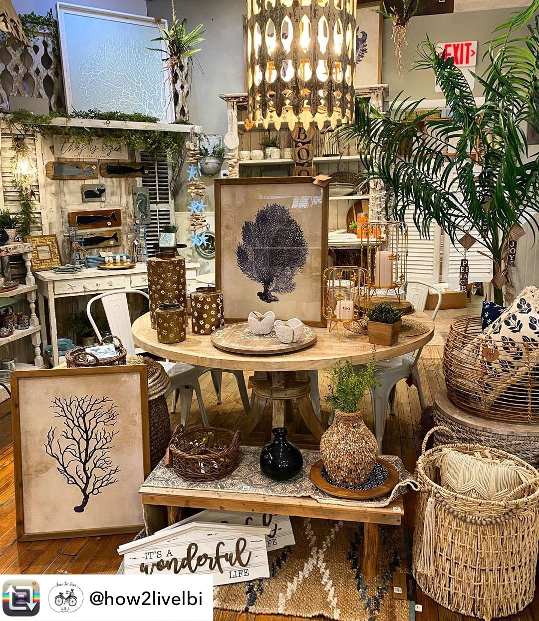 LBI We are so lucky to have such beautiful stores on Long Beach Island!  Is another …