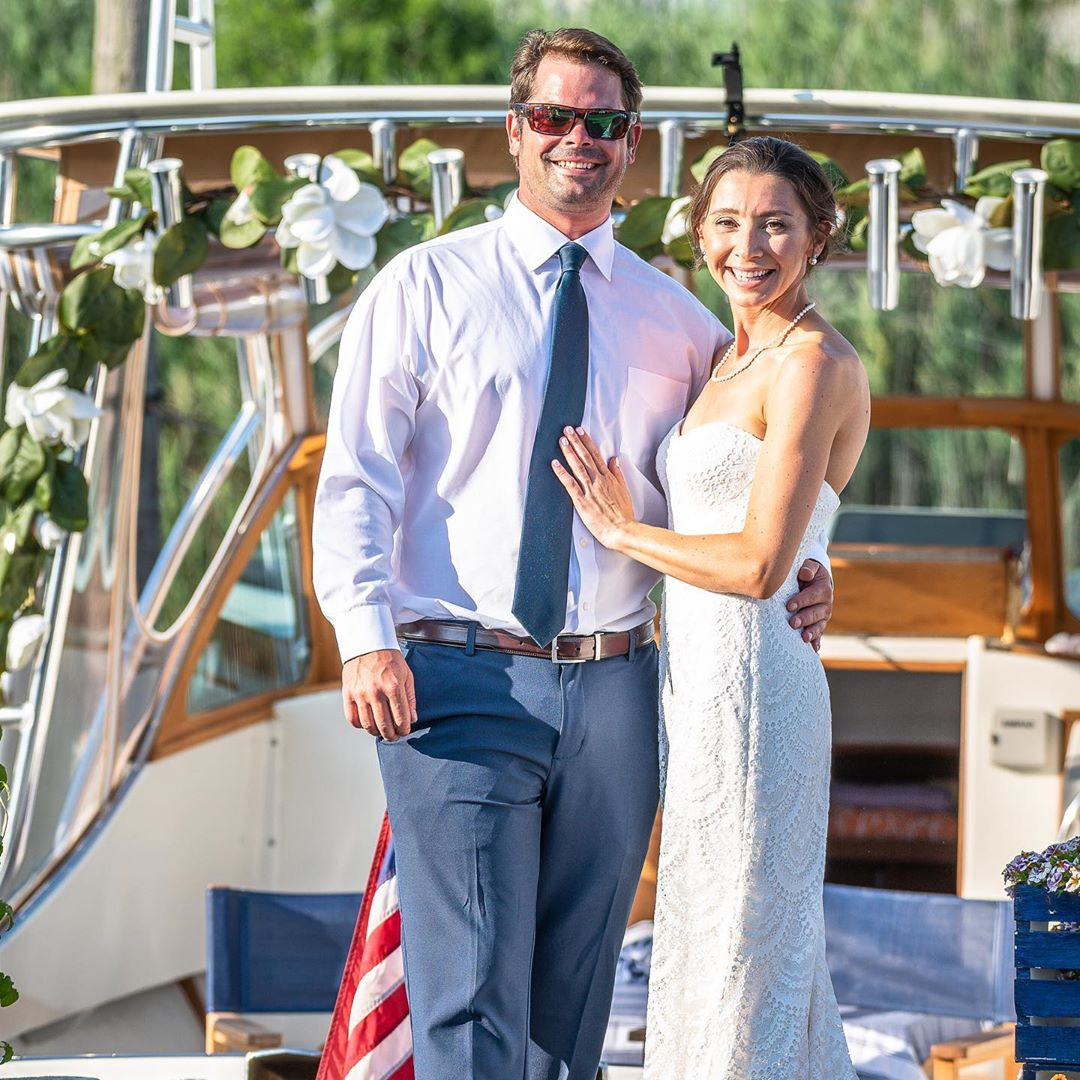 LBI We did it! August 1st,2020 we got married right on our very own boat amidst a pa…