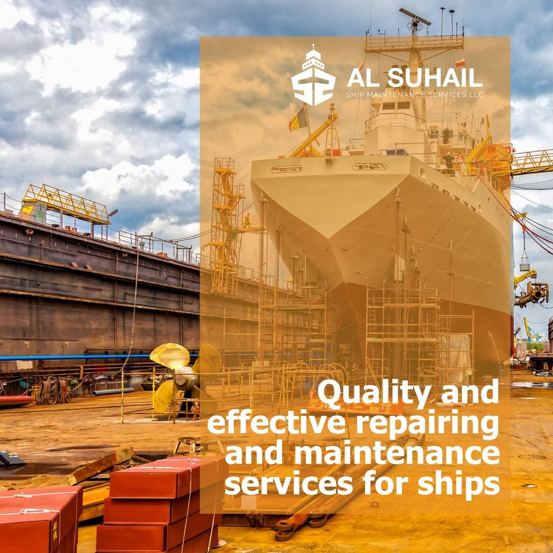 LBI We provide Quality & Effective Repairing and Maintenence sevices for ships      …