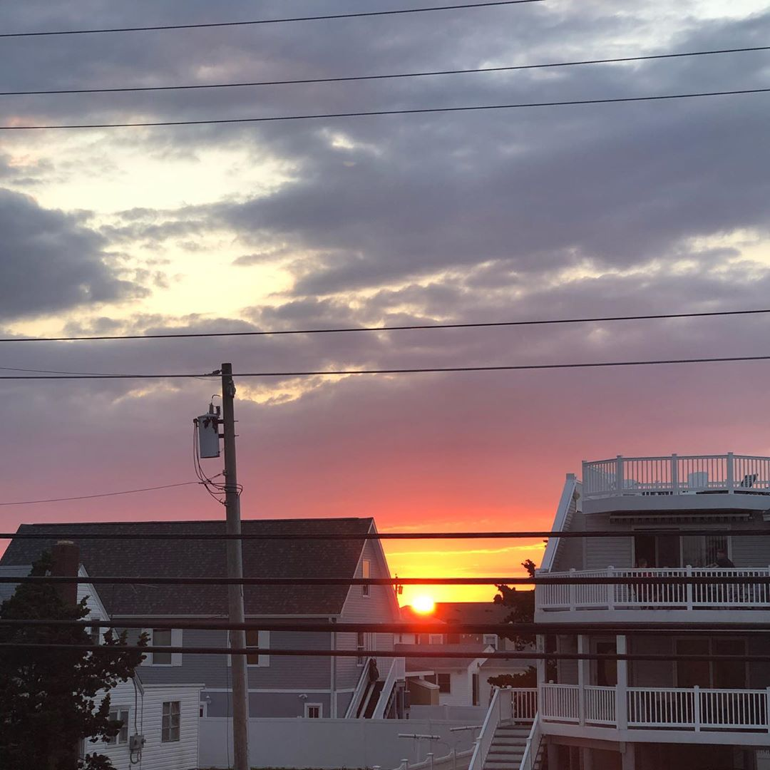 LBI Wednesday night sunset       …
