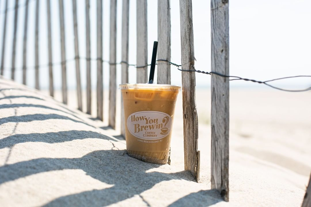 LBI We'll take our iced coffee with a side of beach please. ⠀ .⠀ .⠀ .⠀              …