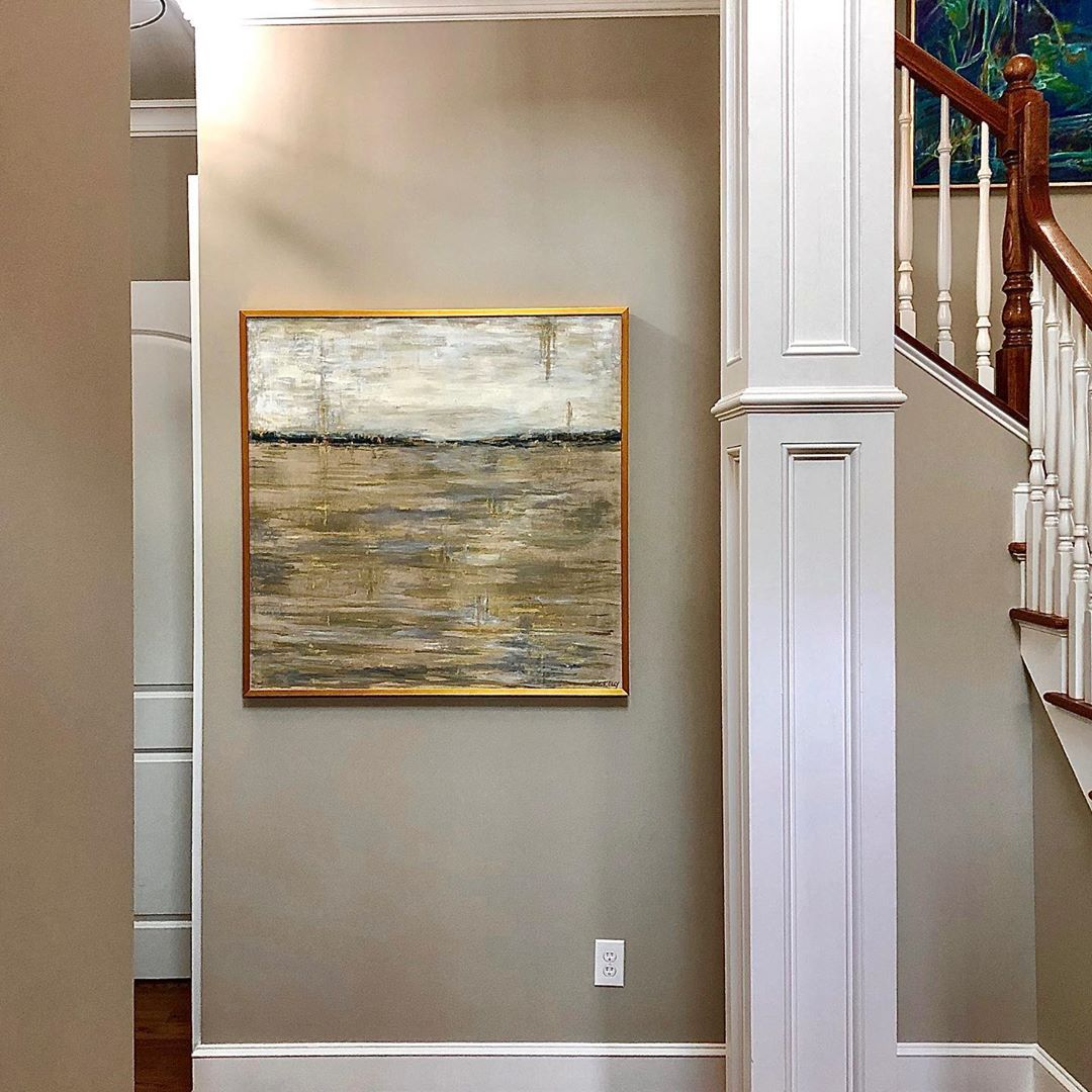 LBI What a wonderful collection of art this home has now! The best part of the sale …