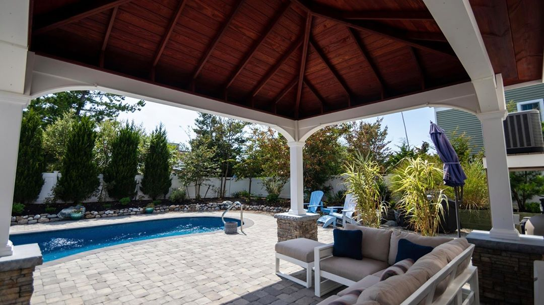 LBI What good is an in-ground pool without a cabana to shade yourself between dips?…