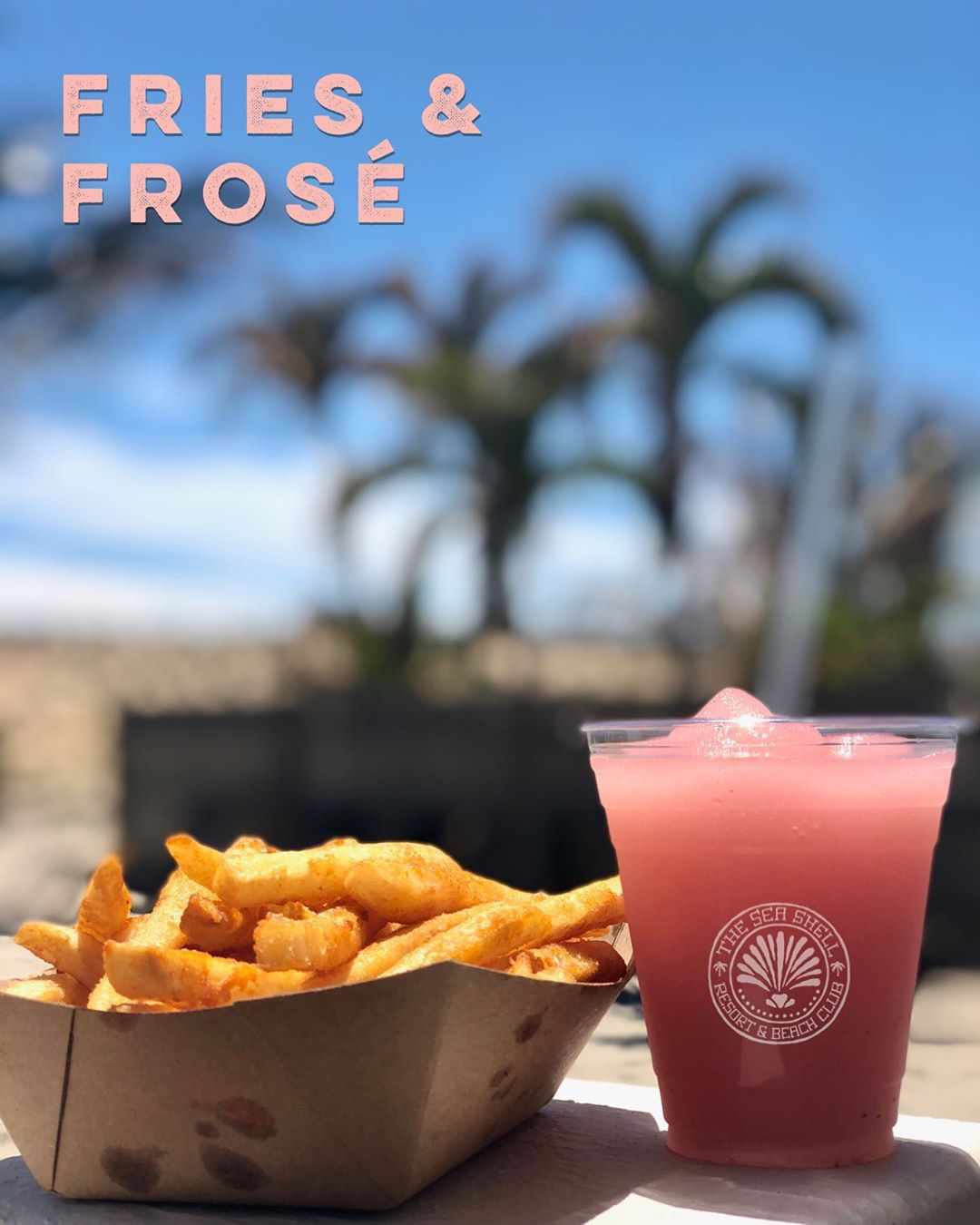 LBI YES WAY FROSÉ! It's a hot Friday! Stay hydrated with water – which is better whe…