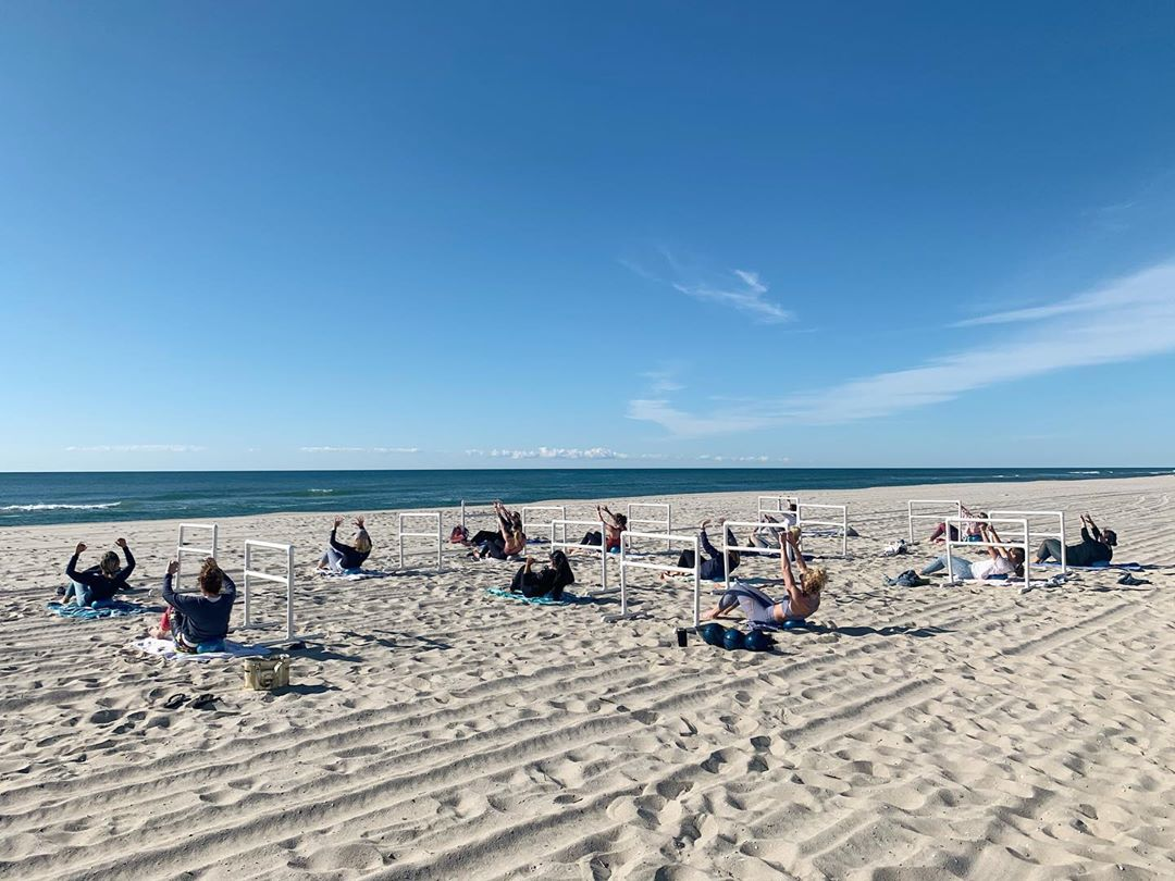 LBI Yesterday was a beautiful morning for our first Beach Barre  Being able to see o…