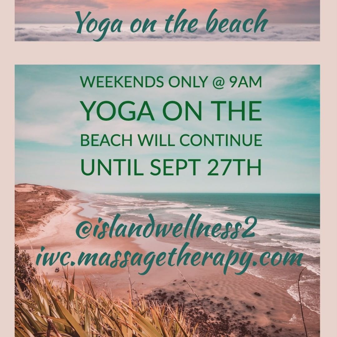 LBI Yoga On The Beach Continues  9 Am Weekends ONLY Until 9/27/20 – islandwellness2,…