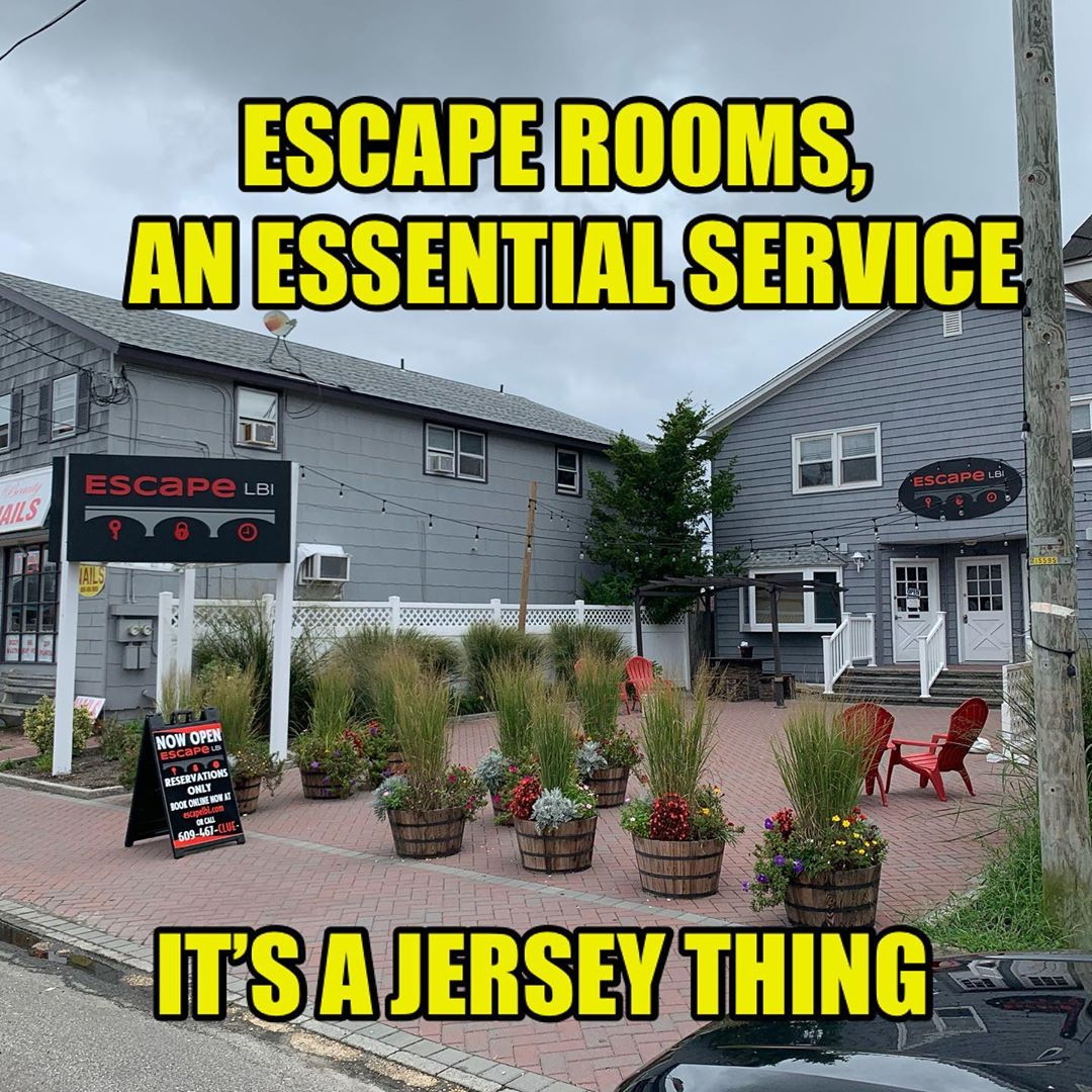 LBI You know what's a great idea during a pandemic? Closed spaces where people are s…