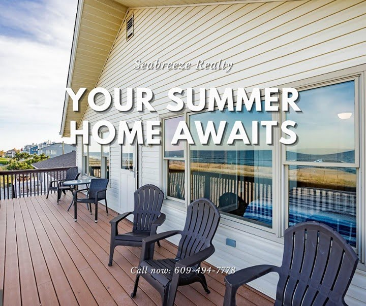 LBI Your summer home awaits, don't hesitate.  Call now: 609-494-7778. •             …