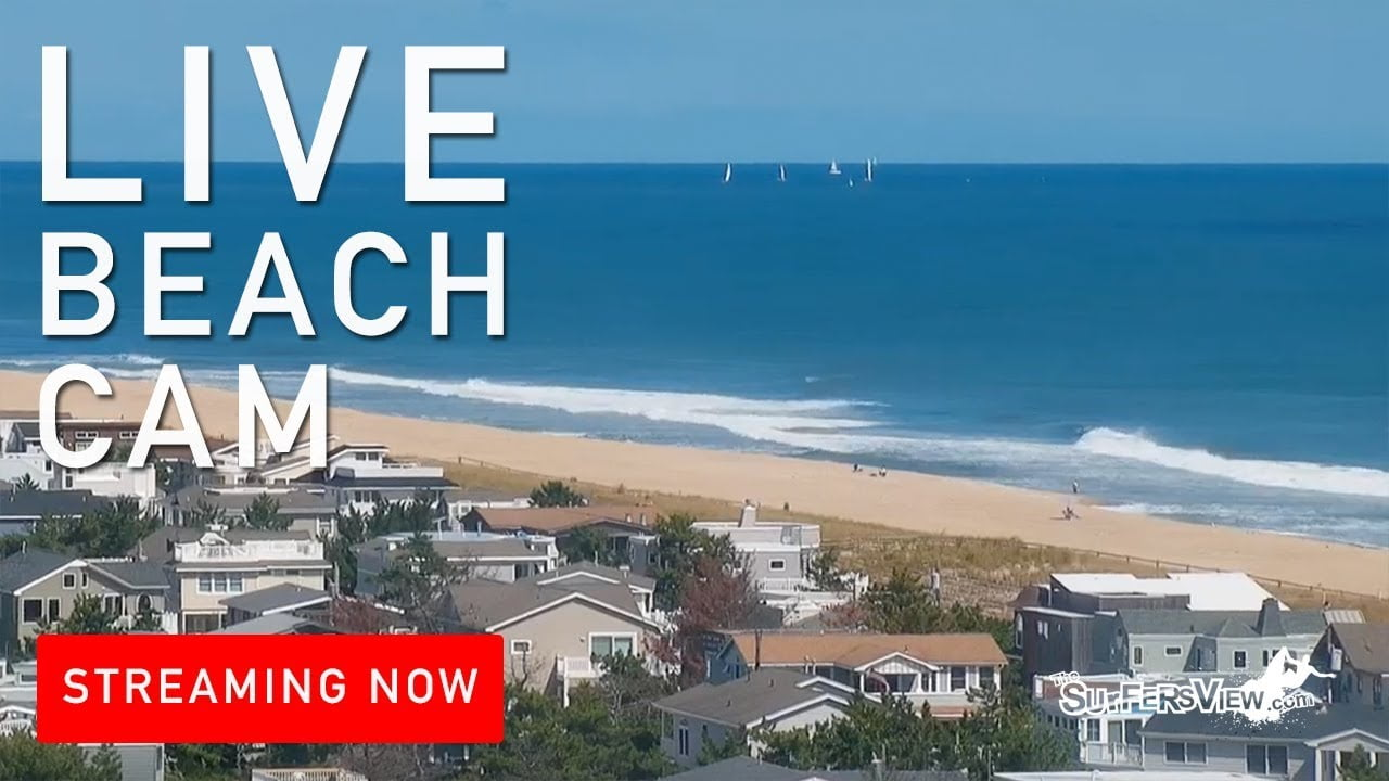 Live Surf Cam: Harvey Cedars, New Jersey #LBI