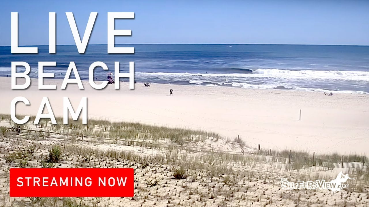 Live Surf Cam: Ship Bottom, New Jersey #LBI
