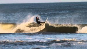 Surfing LBI, NJ March 20, 2014 #LBI